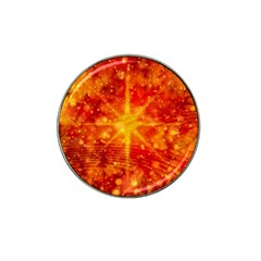 Christmas Star Snow Snowfall Hat Clip Ball Marker (10 Pack)