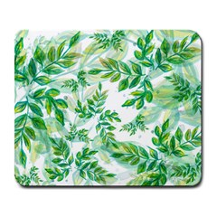 Leaves Green Pattern Nature Plant Large Mousepads