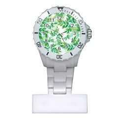 Leaves Green Pattern Nature Plant Plastic Nurses Watch