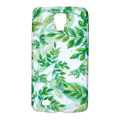 Leaves Green Pattern Nature Plant Samsung Galaxy S4 Active (i9295) Hardshell Case