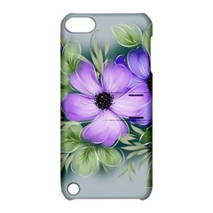 Flowers Vector Illustration Figure Apple Ipod Touch 5 Hardshell Case With Stand