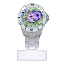 Flowers Vector Illustration Figure Plastic Nurses Watch