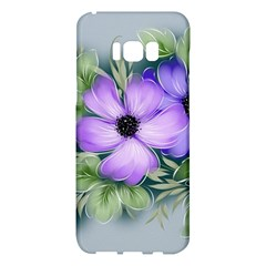 Flowers Vector Illustration Figure Samsung Galaxy S8 Plus Hardshell Case