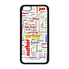 Writing Author Motivation Words Apple Iphone 5c Seamless Case (black)