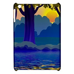 Illustration Vector Forest Nature Apple Ipad Mini Hardshell Case