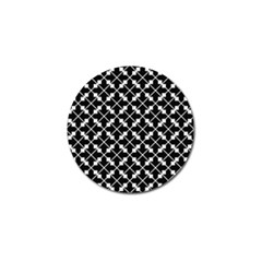 Abstract Background Arrow Golf Ball Marker