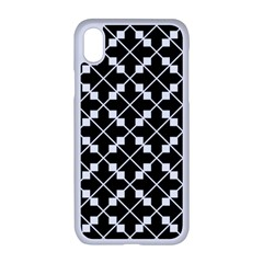 Abstract Background Arrow Apple Iphone Xr Seamless Case (white)