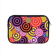Abstract Circles Background Retro Apple Macbook Pro 15  Zipper Case