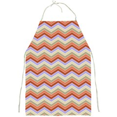 Background Chevron Pattern Design Full Print Aprons