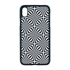Background Pattern Halftone Apple Iphone Xr Seamless Case (black)