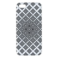 Background Pattern Halftone Iphone 5s/ Se Premium Hardshell Case