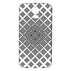 Background Pattern Halftone Samsung Galaxy S5 Back Case (white)