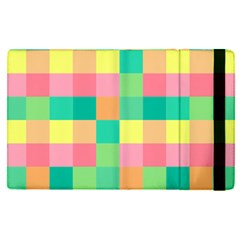 Checkerboard Pastel Squares Ipad Mini 4 by Pakrebo