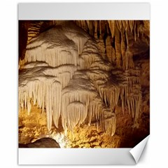 Caverns Rock Formation Cave Rock Canvas 11  X 14