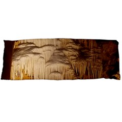 Caverns Rock Formation Cave Rock Body Pillow Case (dakimakura) by Pakrebo