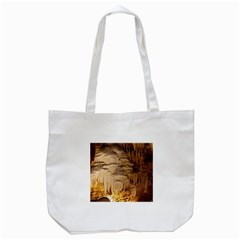 Caverns Rock Formation Cave Rock Tote Bag (white)