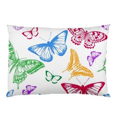 Butterfly Butterflies Vintage Pillow Case (two Sides)