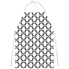 Black Pattern Halftone Wallpaper Full Print Aprons