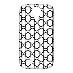 Black Pattern Halftone Wallpaper Samsung Galaxy S4 Classic Hardshell Case (pc+silicone)