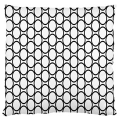 Black Pattern Halftone Wallpaper Standard Flano Cushion Case (one Side)