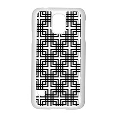 Pattern Vector Halftone Wallpaper Samsung Galaxy S5 Case (white)