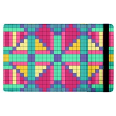 Checkerboard Squares Abstract Apple Ipad Pro 12 9   Flip Case