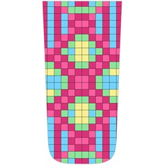 Checkerboard Squares Abstract Simple Shoulder Bag