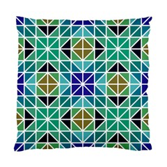 Mosaic Triangle Symmetry Standard Cushion Case (two Sides)
