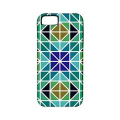 Mosaic Triangle Symmetry Apple Iphone 5 Classic Hardshell Case (pc+silicone)