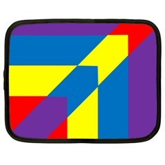 Colorful Red Yellow Blue Purple Netbook Case (xl) by Pakrebo