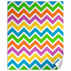 Chevron Pattern Design Texture Canvas 16  X 20  by Pakrebo