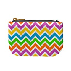 Chevron Pattern Design Texture Mini Coin Purse by Pakrebo