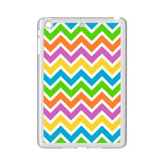 Chevron Pattern Design Texture Ipad Mini 2 Enamel Coated Cases by Pakrebo