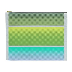 Pattern Banner Background Dot Set Cosmetic Bag (xl)