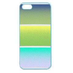 Pattern Banner Background Dot Set Apple Seamless Iphone 5 Case (color)