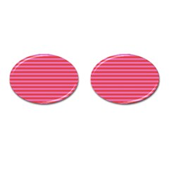 Stripes Striped Design Pattern Cufflinks (oval)