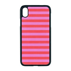 Stripes Striped Design Pattern Apple Iphone Xr Seamless Case (black)