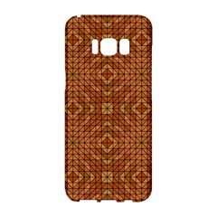 Mosaic Triangle Symmetry Samsung Galaxy S8 Hardshell Case