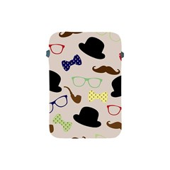 Moustache Hat Bowler Bowler Hat Apple Ipad Mini Protective Soft Cases