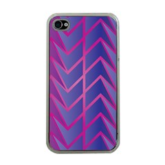 Geometric Background Abstract Apple Iphone 4 Case (clear)