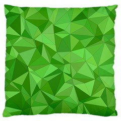 Mosaic Tile Geometrical Abstract Large Flano Cushion Case (one Side)