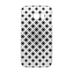 Stylized Flower Floral Pattern Samsung Galaxy S6 Edge Hardshell Case