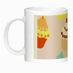 Cupcakes Wallpaper Paper Background Night Luminous Mugs