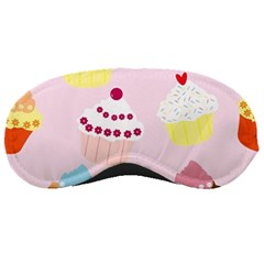 Cupcakes Wallpaper Paper Background Sleeping Masks