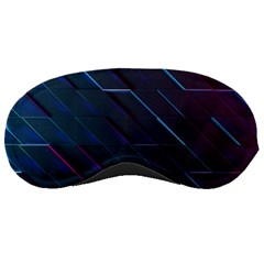 Glass Scifi Violet Ultraviolet Sleeping Masks by Pakrebo