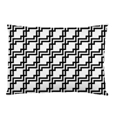 Pattern Monochrome Repeat Pillow Case (two Sides)