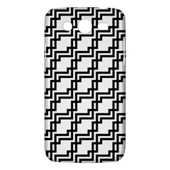 Pattern Monochrome Repeat Samsung Galaxy Mega 5 8 I9152 Hardshell Case
