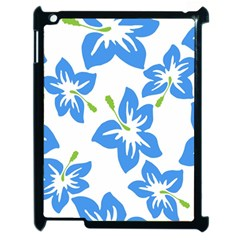 Hibiscus Wallpaper Flowers Floral Apple Ipad 2 Case (black)