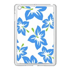 Hibiscus Wallpaper Flowers Floral Apple Ipad Mini Case (white)