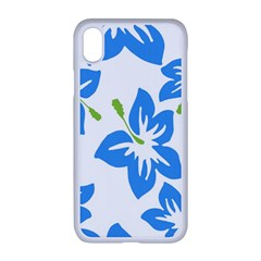 Hibiscus Wallpaper Flowers Floral Apple Iphone Xr Seamless Case (white)